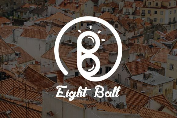 Eight Ball Logo by Magoo Studio on Creative Market