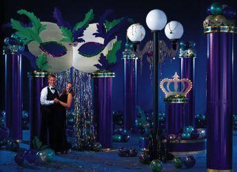 Masquerade Ball Decorations Contains 1 Masquerade Arch 1