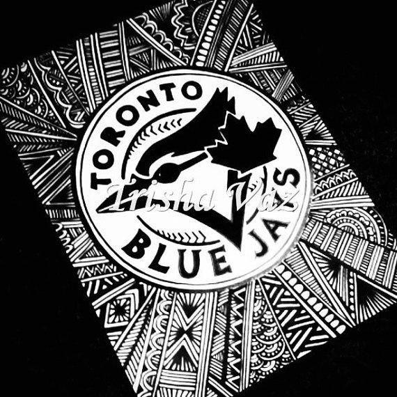 Blue Jays Logo  Indian Edition by TrishaCreations on Etsy, $25.00