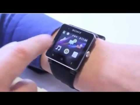 Sony SmartWatch iPhone and Android