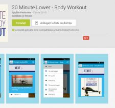 20 Minute Lower – Body Workout