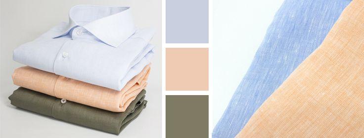L'attenta scelta dei materiali e la perfezione nei dettagli, sono gli elementi principali che rendono le nostre camicie un prodotto di lusso accessibile a tutti. Camicie regular e slim fit. Estate 2017  Camicia Uomo Slim fit in lino |Tinta unita | Colore verde | azzurro | pesca | rosa | collo alla francese Outfit | man | Casual | style | fashion | elegante | italy | lino | quadri | quadretti | bianca | blu | rossa 2017 | modello | pattern | righe | disegno |