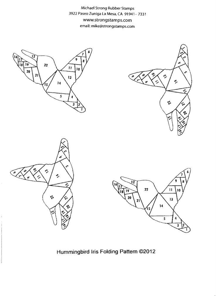 125 best Iris Folding Patterns images on Pinterest | Iris ... - photo#15