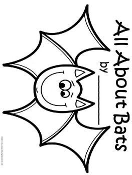 FREE Bat Writing Template Craft with Lines