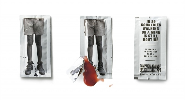 ketchup: campaign against landmines