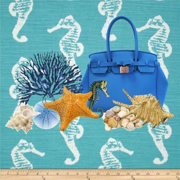 """Blue Sea"" by savemybag on Polyvore"