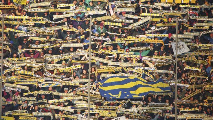 Supporters fidèles a Parme #9ine @Parma