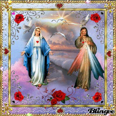 DER WUNDERSCHÖNE LIEBE HERR JESUS CHRISTUS SEGNET UNS ERBARME DICH UNSER AVE MARIA BITTE FUER UNS!