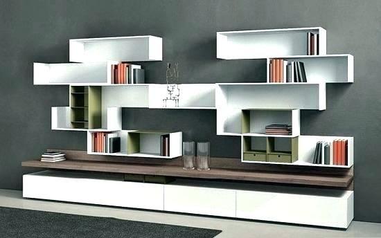 Image Result For Bookshelf Designs Contemporary Shelving Wall