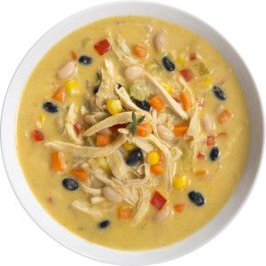 Roasted Chicken Corn and Bean Chowder We love this hearty chowder ...