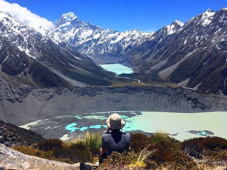 Aoraki Mount Cook National Park Hiking, New Zealand