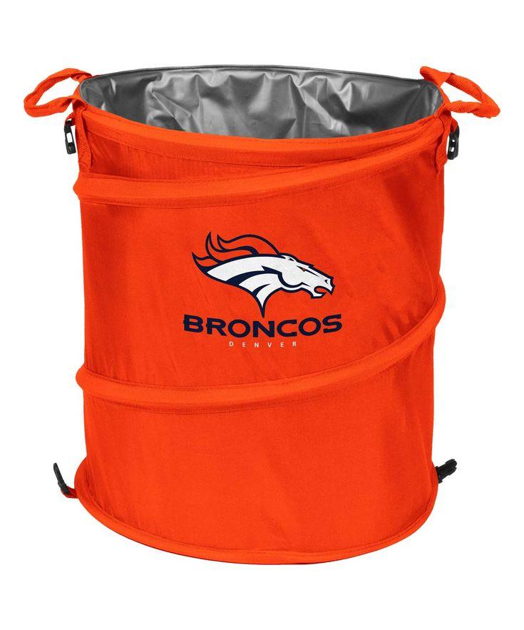 Denver Broncos Collapsible 3-in-1 Cooler/Hamper