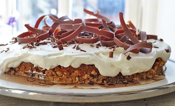 <p>Banoffee Pie er en engelsk dessertkage. Navnet er sammensat af banan og toffee, som begge dele er brugt i denne […]</p>