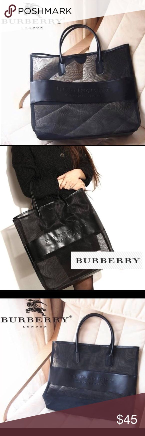 Burberry Tote New Burberry makeup Tote   Sturdy and versatile   Comes in original packaging  40 x 40 x 11cm Burberry Bags Cosmetic Bags & Cases