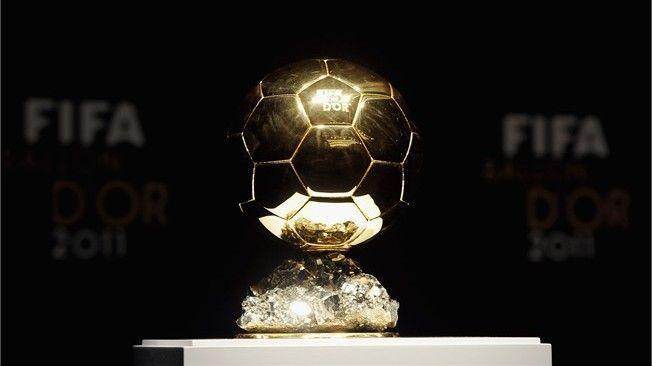 The FIFA Ballon d'Or trophy