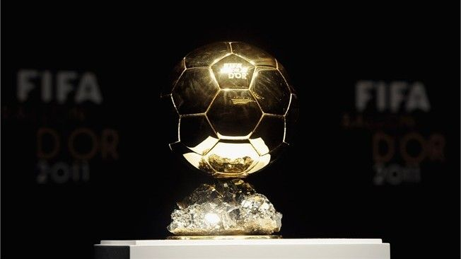 The FIFA Ballon d'Or trophy