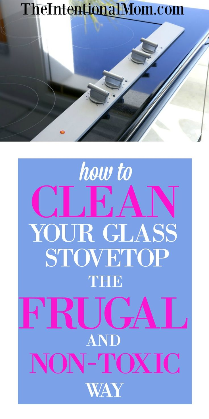 How To Clean A Glass Top Stove Best 25 Stove Top Cleaner Ideas Only On Pinterest Glass Cooktop