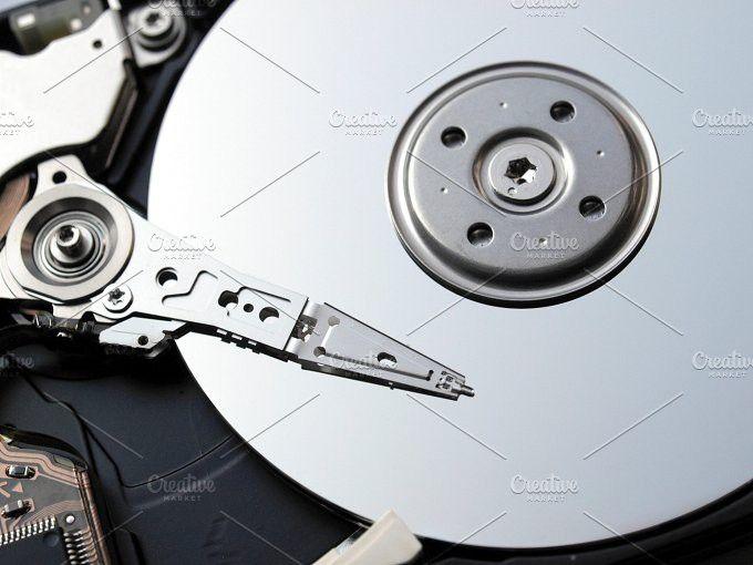 Hard disk. Technology Photos. $5.00