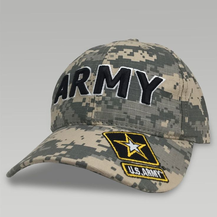 Be ready to boast your passionate Army pride with this classic Army Digi Camo Cap Design! ul> Made in the U.S.A. 100% Cotton Twill One size fits most Adjustable Velcro strap in back Embroidered Army design on front and US Army Star on bill
