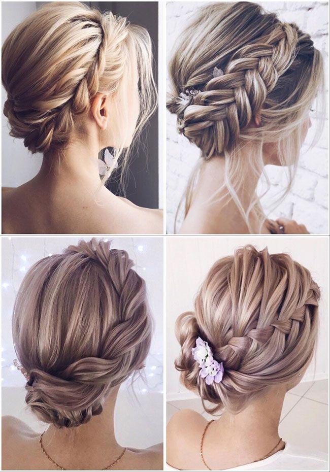 Blog Charming Forevermorebling Hairstyles Lenabogucharskaya We Peinados Novia Pelo Corto Peinados Recogidos Cabello Corto Peinados Con Trenzas Para Bodas