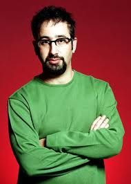Photo of David Baddiel on http://www.comedians.co.uk/