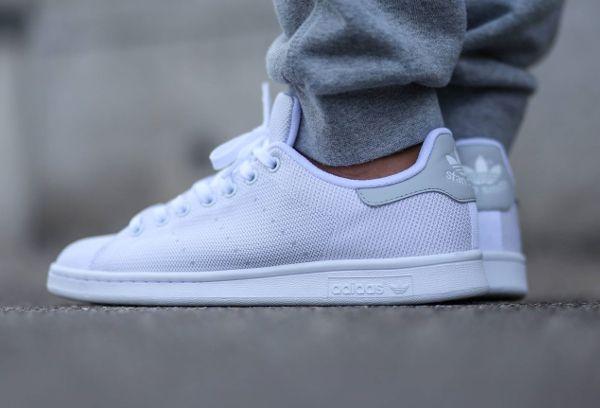 Adidas Stan Smith Textile Light Solid Grey (4)