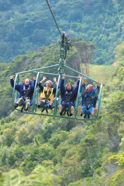 The World's longest flying fox adventure - in Nelson, new zealand! The Skywire is the first of its kind - and it's our own invention!