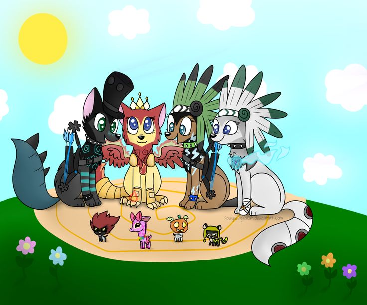 Animal Jam .:PC:. by RoseyWingedCat.deviantart.com on @deviantART