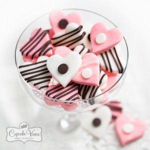 Chocolate Kiss Heart Mints