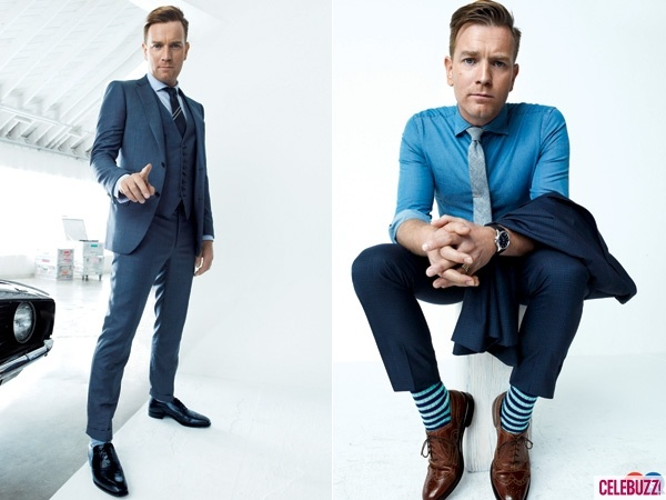 Ewan McGregor Suits Up for GQ
