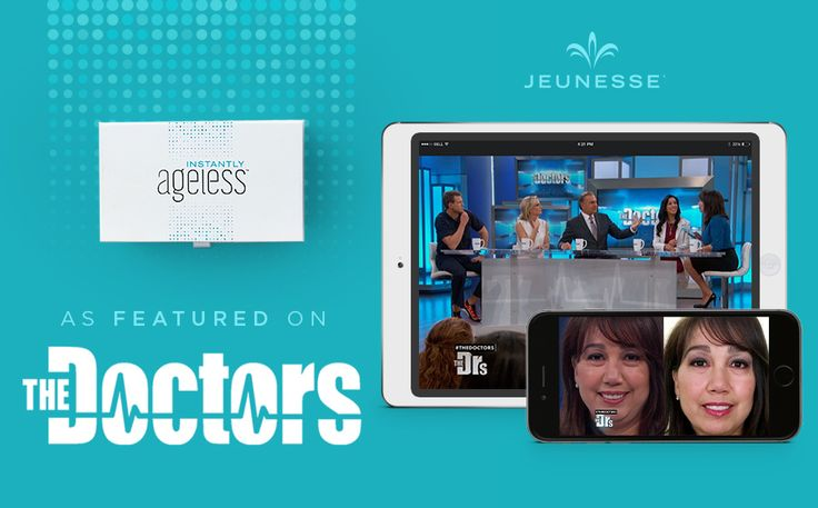 "Instantly Ageless is Instant Success on The Doctors.With all of the online buzz generated by Instantly Ageless, the medical professionals on the Emmy Award-winning daytime talk show, The Doctors decided to put the product to the test – and the results are beautiful! You can view the ""Miracle Cream Instantly Eliminates Under Eye Bags"" show segment here. http://www.thedoctorstv.com/videos/miracle-cream-instantly-eliminates-under-eye-bags"