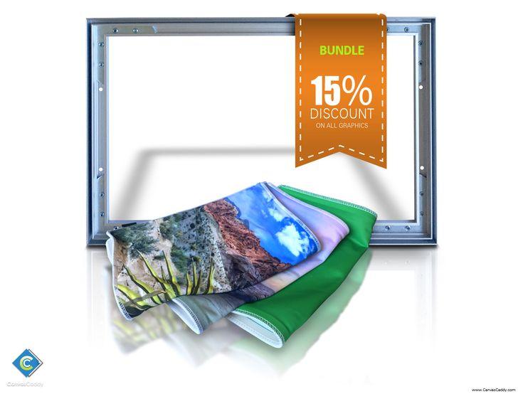 custom printed canvas 1 canvas frame and 4 custom graphics