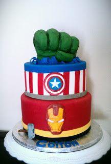 hulk and ironman cake - Google Search
