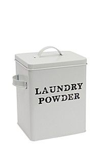 METAL LAUNDRY POWDER HOLDER