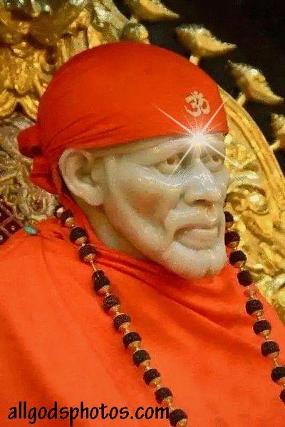 3d gifs blinking eyes   Latest Shirdi Sai Baba Blinking Eyes Miracle Gif Image
