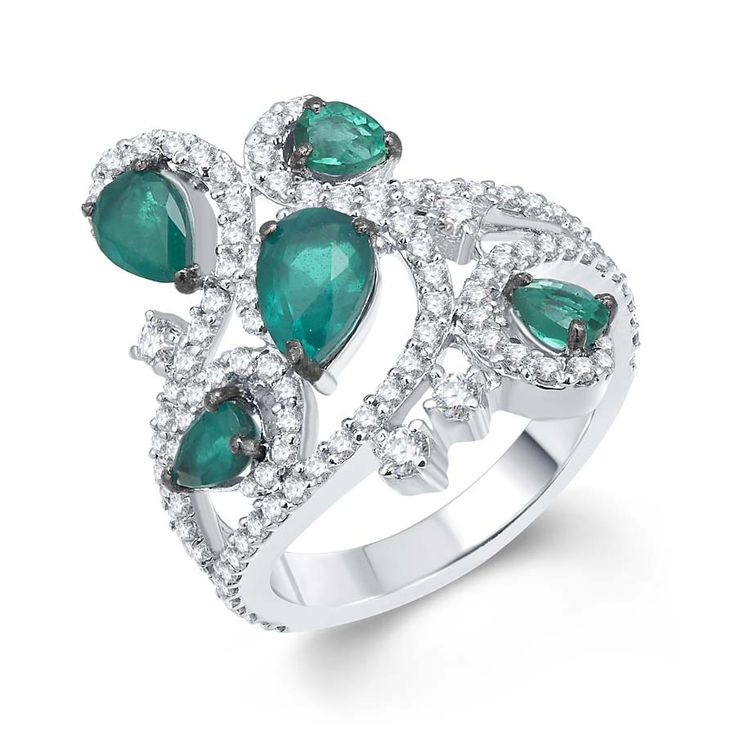 Spring Fest Ring    Product Code : ADR1400016   Type : Green Hydro, Swarovski Color :Green  #Rings, #SilverRingsForWomen, #SilverRingsForGirl, #BuySilverRingsOnlineIndia, #SilverRingsShopping, #SilverRingsShoppingOnline, #DesignerRings, #DesignerSilverRingsOnline, #BuyDesignerSilverRings