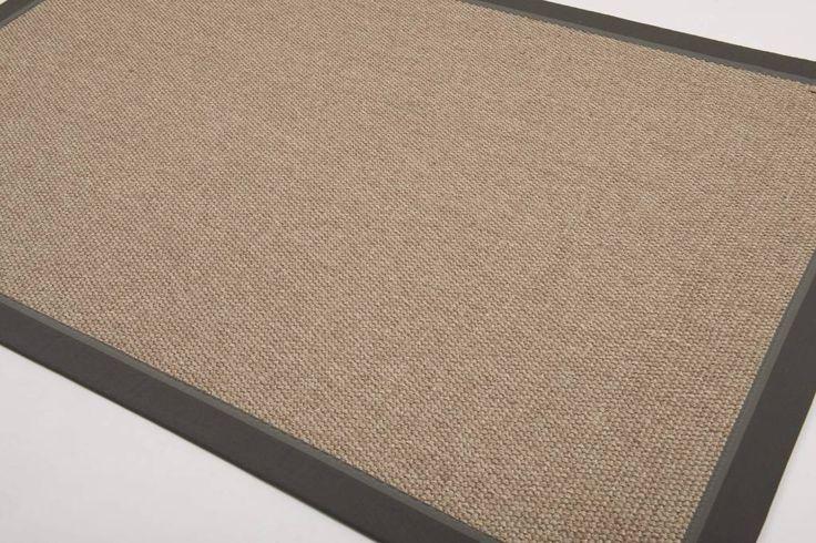 """Nu exclusief verkrijgbaar bij Floorpassion.nl. Vloerkleed """"Edgar Town Carpet Grey"""" van Riviera Maison nu direct leverbaar !"""