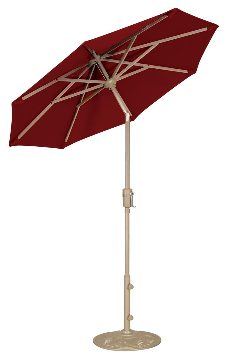um906ck1 6u0027 push button tilt umbrella by treasure garden