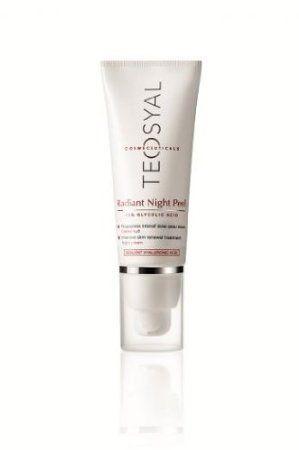 TEOSYAL Radiant Night Peel, mit 15% Glykolsäure, Sanftes Gesichts Peeling für die Nacht, 40 ml: Amazon.de: Parfümerie & Kosmetik