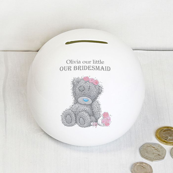 Personalised Me To You Girls Wedding Money Box  http://justtherightgift.co.uk/personalised-me-to-you-girls-wedding-money-box.html