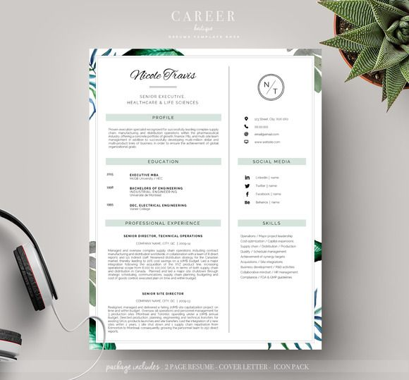 15 best resumes 2016 images on Pinterest Design resume, Resume - professional resume fonts