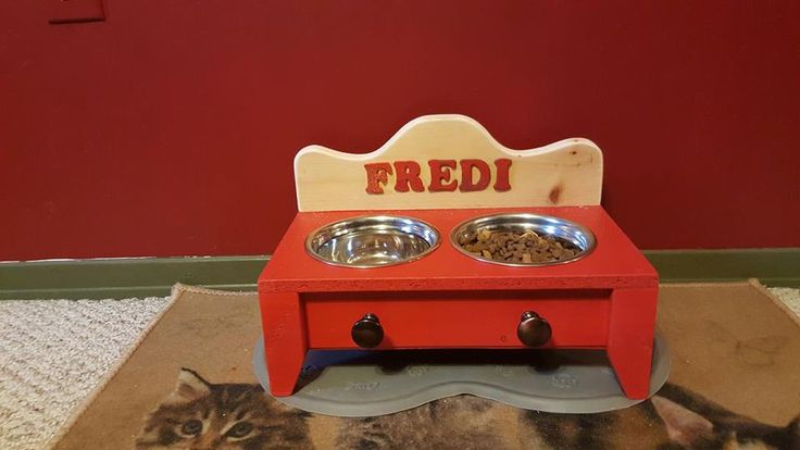 Cat Food Station