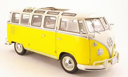 VW T1 Samba, gelb/weiss 1962