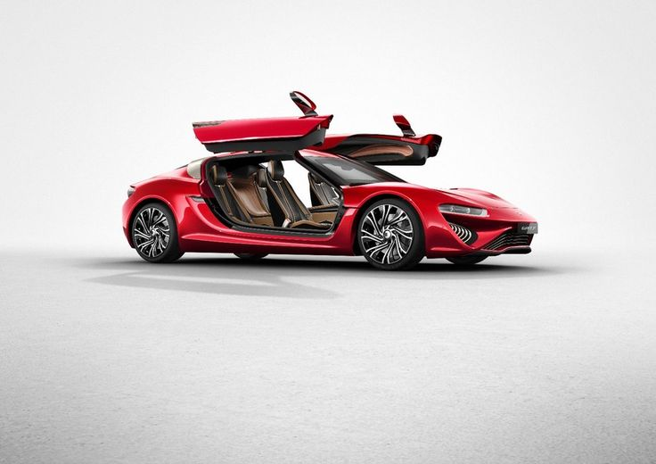 Tesla look out. The new Quant FE features an overhauled interior. Gull Wing Doors...I'll take it!!