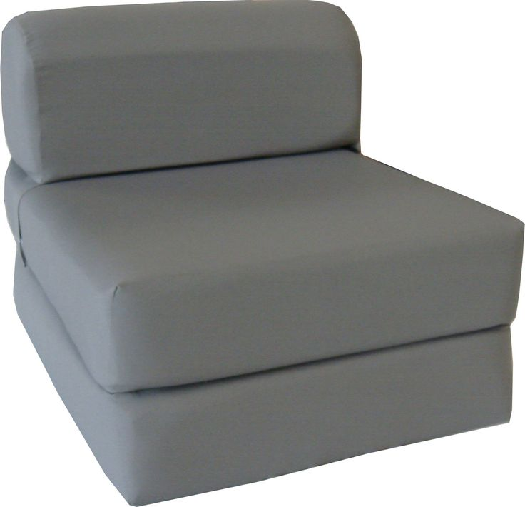 chairs that turn into beds uk bean bag gray sleeper chair folding foam bed sized thick wide for sale