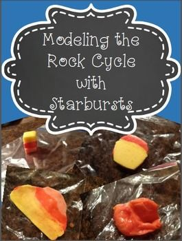Super fun lab provides a hands-on experience that explains the rock cycle.  It just doens't getter any better than this.  Perfect for the middle school science classroom.