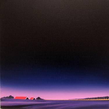 "Saatchi Art Artist Nelly van Nieuwenhuijzen; Painting, ""Sunrise, the start of a beautiful day."" #art"