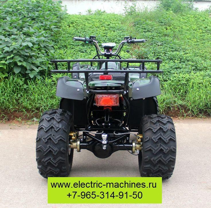 Двигатель 2кВт, 60В, механическая коробка передач, фаркоп.