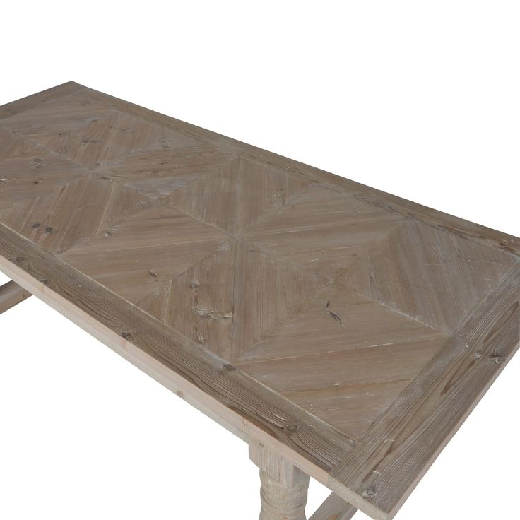 The quality of this grand table is absolutely outstanding. The detailing on the legs and criss-cross squared design on the top make this a unique piece which will remain not only useful but stylish for years to come, making a statement in your home.