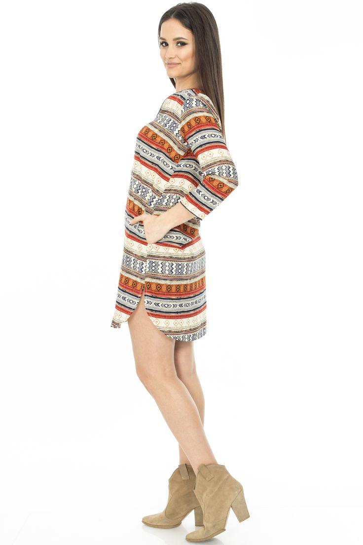 Spring Aztec Dress ! http://rohboutique.ro/rochie-aztec---dr1789/2424.htm